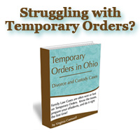 Book and Forms Temporary Orders Affidavits in Ohio
